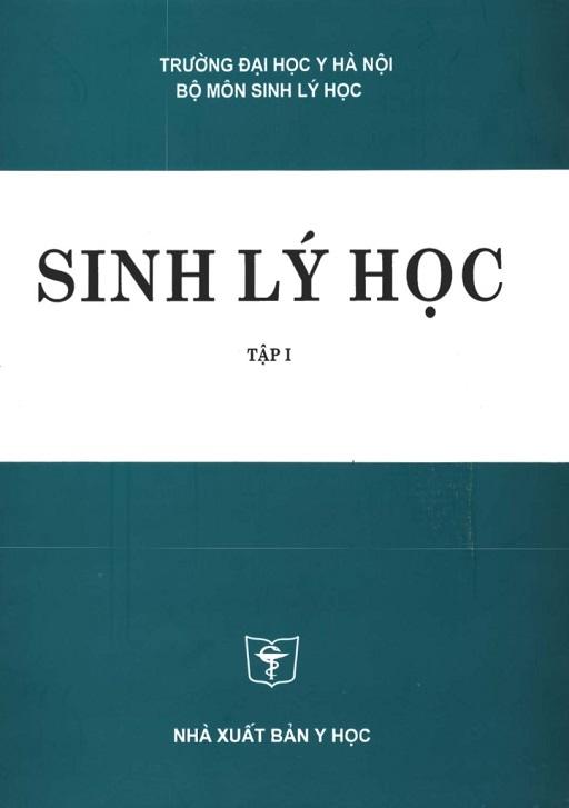 Sinh lý học-ĐHY HN-Tập 1