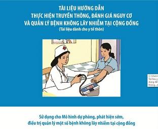 Tài liệu hướng dẫn thực hiện truyền thông, đánh giá nguy cơ và quản lý bệnh không lây nhiễm tại cộng đồng